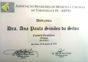 Associação Brasileira de Medicina do Tornozelo e Pé