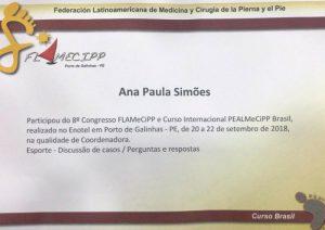 Certificado Coordenadora