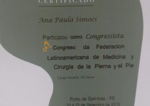 Certificado do Flamecipp