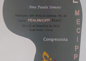 Certificado do Pealmecipp
