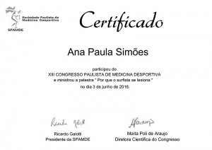 XII Congresso de Medicina Desportiva