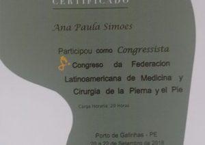 Certificado do Flamecipp