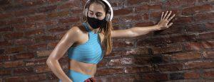 Modelo de máscara e ritmo de exercício são importantes
